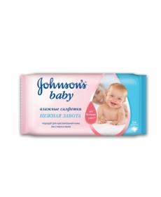 "Johnson & Johnson Влажные салфетки ""Без отдушки"" 64шт"