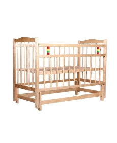 Кроватка детская  Марина-4 (маятник, откидная план