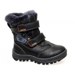 Ботинки зимние черные -Сказка- 720502-BK