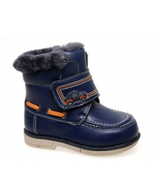 Ботинки зимние синие -Сказка- 966219002-DB