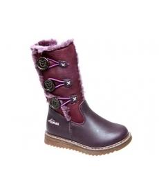 Сапоги зимние фиолетовые -Сказка- 2177506-PE