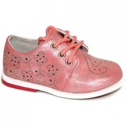 Е4123 Ботинки для девоч.р. 20-27 розовый капитошка
