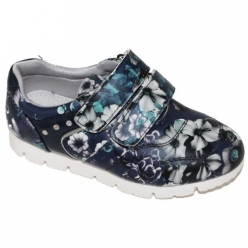 Е4795 кроссовки для девочек 26-31 синий