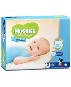 Huggies Ultra Comfort Подгузники для мальчиков (3) 5-9 кг - 94 шт