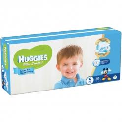 Huggies Ultra Comfort Подгузники для мальчиков (5) 12-22 кг - 64 шт