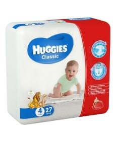 Huggies Classic 4 7-18 кг 27шт