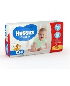 HUGGIES Classic 4 7-18кг 50шт