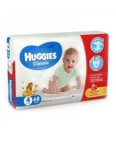 Huggies Classic 4 7-18кг 68шт