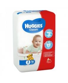 HUGGIES Classic 3 4-9кг 16шт