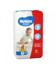 HUGGIES Classic 4 7-18кг 14шт