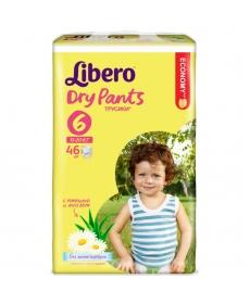 Libero Dry Pants (6) 13-20кг 46шт