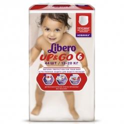 Libero Up&Go (6) 13-20кг 44шт