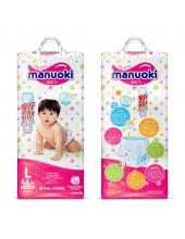 Подгузники-трусики MANUOKI L 9-14кг 44шт