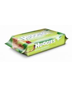 Huggies Влажные салфетки Ультра комфорт Aloe 64шт