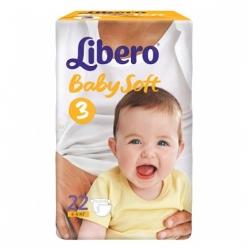 Libero Baby Soft EcoTech Midi 4-9кг 22шт