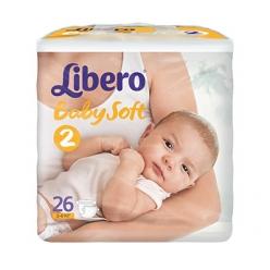 Libero Baby Soft EcoTech Mini 3-6кг 26шт