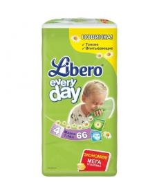 Libero Everyday Maxi (4) 7-18кг 66шт