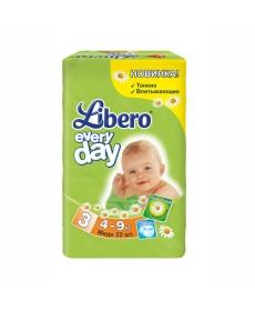 Libero Everyday Midi (3) 4-9кг 22шт