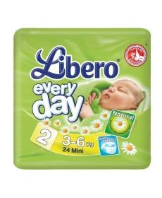 Libero Everyday Mini (2) 3-6кг 24шт