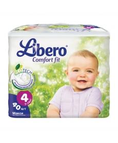 Libero EcoTech Comfort Fit Maxi (4) 7-14кг 40шт
