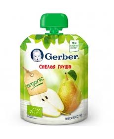 Gerber пюре Ограник Груша 90г
