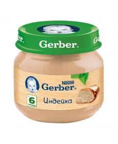 Gerber пюре 80г Индейка