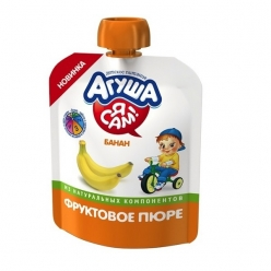 Агуша Пюре Я САМ! Банан 90г