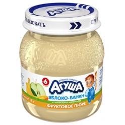 Агуша Пюре Яблоко/Банан 115г