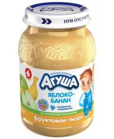 Агуша Пюре Яблоко/Банан 200г