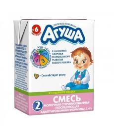 Агуша Смесь 0,2л Детская Кисломолочная 2