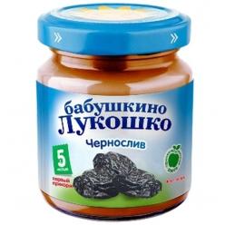 Бабушкино Лукошко пюре 100г Чернослив