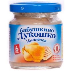 Бабушкино Лукошко пюре 100г Цыпленок
