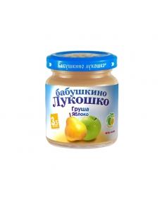 Бабушкино Лукошко пюре 100г Груша/Яблоко