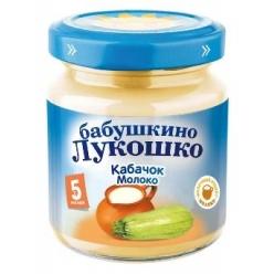Бабушкино Лукошко пюре 100г Кабачок/Яблоко