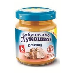 Бабушкино Лукошко пюре 100г Оленина