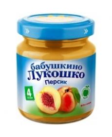 Бабушкино Лукошко пюре 100г Персики