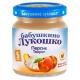 Бабушкино Лукошко пюре 100г Творог/Персик