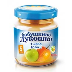 Бабушкино Лукошко пюре 100г Тыква/Яблоко