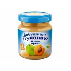 Бабушкино Лукошко пюре 100г Яблоко/Абрикос