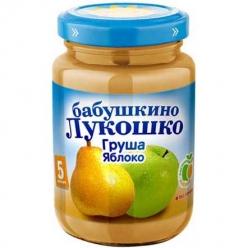 Бабушкино Лукошко пюре 200г Яблоко/Груша