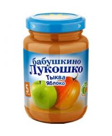 Бабушкино лукошко пюре 200г Яблоко/Тыква