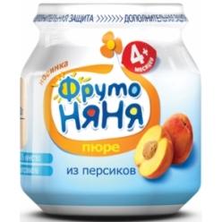ФрутоНяня Пюре 100г Персик натуральное