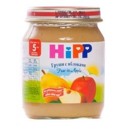 HIPP Пюре 125г Груша/Яблоко