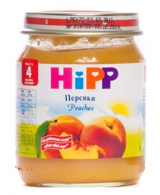 HIPP Пюре 125г Персик