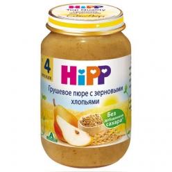 HIPP Пюре 190г Груша/Зерновые хлопья