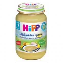 HIPP Пюре 190г Овощной крем-суп с Цыпленком