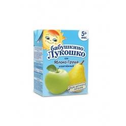 Бабушкино Лукошко сок груша, яблоко осветленное - тетрапак 200 мл.