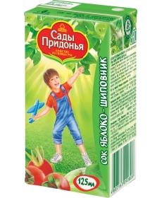 Сады Придонья Сок 0,125л Яблоко/Шиповник