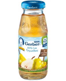 Gerber сок Груша 175мл