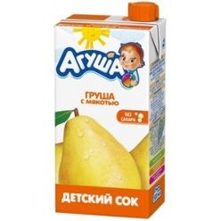 Агуша Сок Груша/Мякоть 500мл